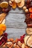 высушенное смешивание плодоовощей Стоковое фото RF