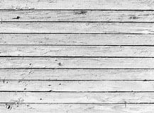 высушенное чернотой деревянное планки белое Стоковые Фото