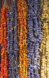Высушенное hangind в магазине - Kemer плодоовощей, Турция Стоковое Изображение RF