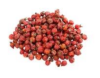 высушенные вальмы подняли Куча dogrose Плоды шиповника ягоды стоковые фото