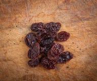 Высушенные виноградины стоковые изображения rf