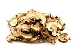Высушенные изолированные грибы Стоковые Фотографии RF