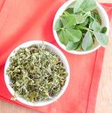 Высушенные листья пажитника Стоковая Фотография RF