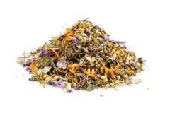 Высушенные листья травяного чая Стоковые Фотографии RF