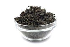 Высушенные листья черного чая Стоковое фото RF