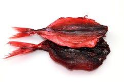 Высушенные красные рыбы Стоковые Фотографии RF