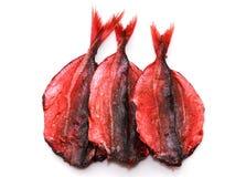 Высушенные красные рыбы Стоковые Изображения