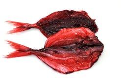 Высушенные красные рыбы Стоковая Фотография RF