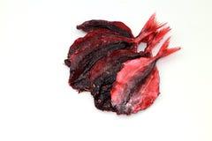 Высушенные красные рыбы Стоковое Изображение