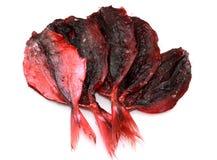 Высушенные красные рыбы Стоковые Фото