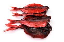 Высушенные красные рыбы Стоковая Фотография