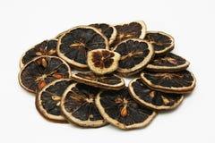 высушенные ломтики лимона Стоковые Изображения RF