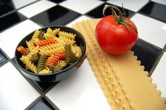 высушенные макаронные изделия Стоковое Фото