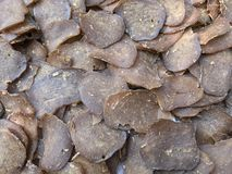 Высушенные обломоки рыб Стоковая Фотография RF