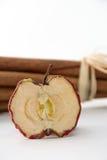 Высушенные обломоки яблока Стоковые Изображения