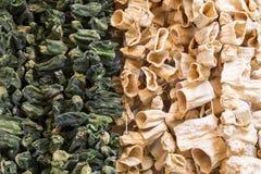 Высушенные овощи в Gaziantep, Турции Стоковая Фотография
