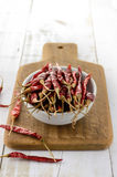 Высушенные перцы chili Стоковая Фотография RF