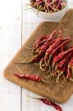 Высушенные перцы chili Стоковые Фотографии RF