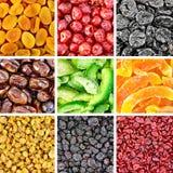 Высушенные плодоовощи и ягоды Стоковые Фотографии RF