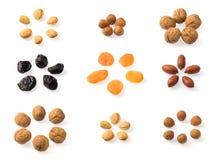 высушенные плодоовощи Стоковое Изображение