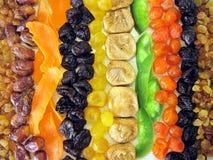 высушенные плодоовощи Стоковая Фотография
