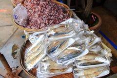 высушенные посоленные рыбы Стоковое Изображение