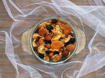 Высушенные плодоовощи и ягоды Стоковое Изображение RF