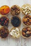 высушенные плодоовощи nuts Стоковое Фото