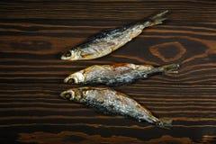 высушенные рыбы 3 Стоковая Фотография