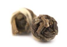 высушенные свернутые листья жасмина Стоковые Фото