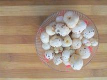 Высушенные семена лотоса в шаре Стоковое Фото