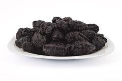 Высушенные сливы, черносливы Стоковая Фотография RF