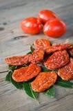 высушенные томаты Стоковые Фотографии RF