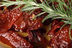 Высушенные томаты Стоковая Фотография RF