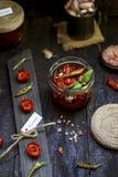 Высушенные томаты Стоковая Фотография