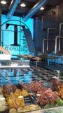 Высушенные фрукты и овощи ходят по магазинам в окне магазина Salonic Стоковые Фото