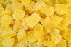 Высушенные части ананаса Стоковые Фотографии RF