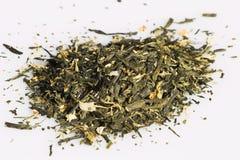 высушенные чая Стоковое Фото