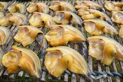 Высушенные fishs местной еды на открытом рынке стоковое изображение
