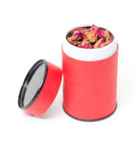 Высушенные Rosebuds в красном цвете могут Стоковая Фотография RF