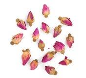 высушенные rosebuds Стоковое Изображение