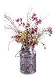 Высушенный винтажный букет цветка Стоковое Изображение