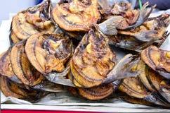 высушенный ворох рыб Стоковая Фотография