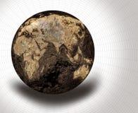 высушенный глобус иллюстрация штока