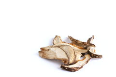 Высушенный гриб Shitake Стоковые Изображения