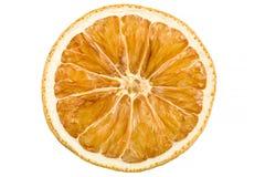 Высушенный кусок апельсина Стоковая Фотография