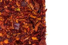 Высушенный макрос перца паприки Стоковая Фотография