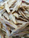 Высушенный малый крупный план рыб Стоковая Фотография RF