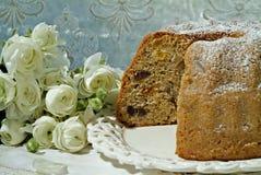 высушенный торт - плодоовощ Стоковое Изображение