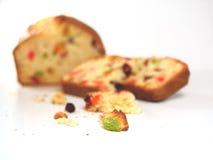 высушенный торт - плодоовощ Стоковое Изображение RF